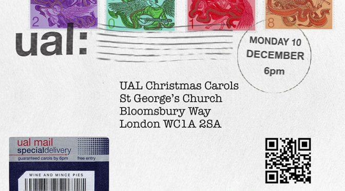 UAL Carols raises £315 for Winter Night Shelters