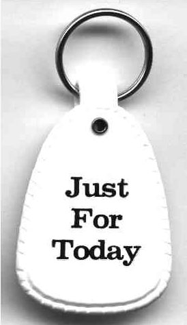 just-for-today-keyring