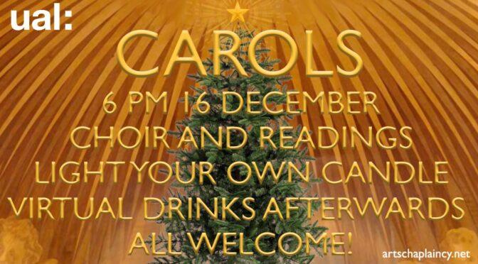 UAL Carols 2020